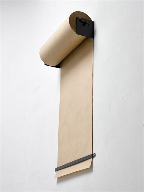 Craft Paper Dispenser - wall mounted kraft paper roll dispenser design milk