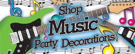 party music music theme party decorations supplies partycheap