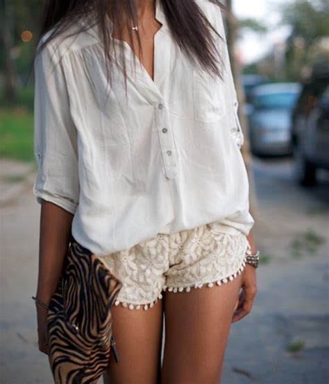 Lace Shorts lace shorts yes or a no