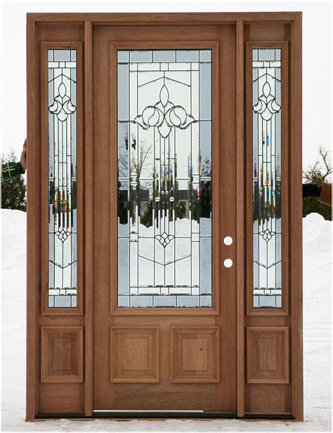 Wood Front Entry Doors With Sidelights Wooden Front Doors With Sidelights Interior Design Ideas