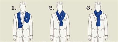 nudos de bufanda formas de lucir un pa 241 uelo de hombre o una bufanda de