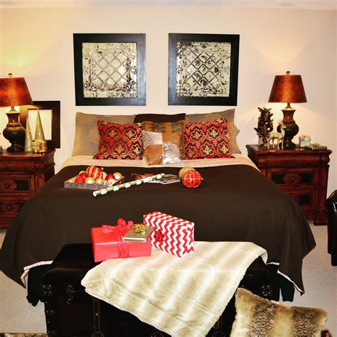 decorate your bedroom 40 cute and creative christmas bedroom decor to try