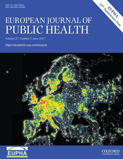 public health europe european european commission the european journal of public health peter allebeck