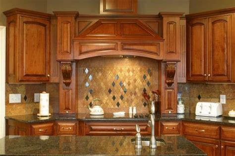 Kitchen Countertops And Backsplashes by Tuba Uba Granite Countertop And Red Limestone Backsplash