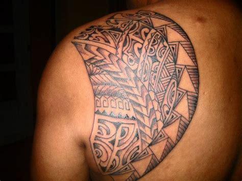 tribal tattoos shoulder blade shoulder blade tattoos the most favorite spot
