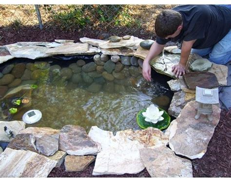 how to build a backyard pond 17 best ideas about diy pond on outdoor ponds