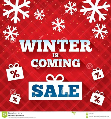 christmas story l sale winter is coming sale background christmas sale stock