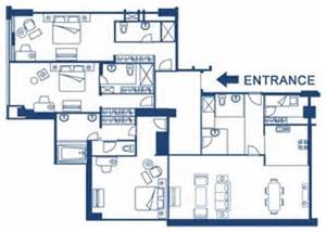 Apartment Floor Plan Philippines by Service Apartments In Manila 3 Bedroom Apartments At