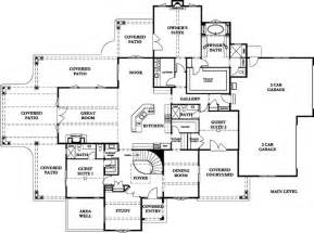 Floor Plan In French by French Country Chateau Floor Plans French Country House