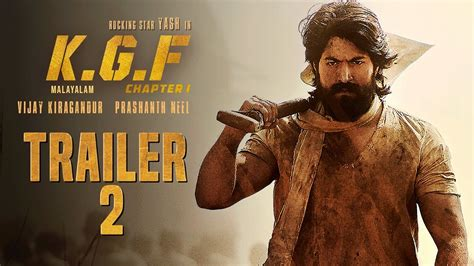 kgf chapter  official trailer  malayalam yash