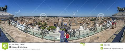 Wedding Cake Building Rome by Rome Panorma Editorial Image Image 45611985