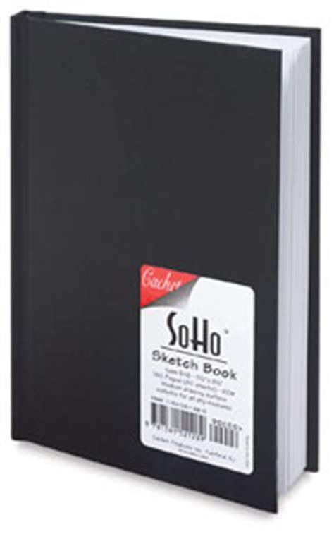 sketch book black cachet hardbound soho basic sketchbook blick materials
