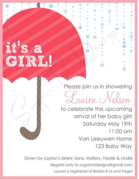 10 best images about simple design baby shower invitations