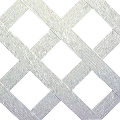quot classic quot pvc lattice panel 2 x 8 white rona