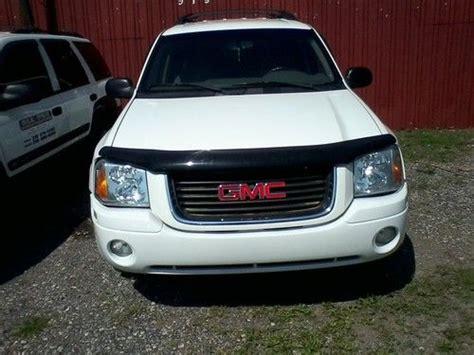 2003 gmc envoy white sell used 2003 gmc envoy 4x4 xl white in michigan city