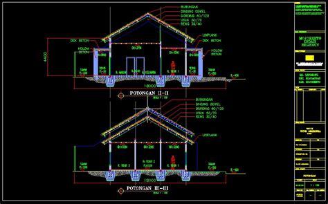 gambar rumah format dwg download gambar teknik rumah type 70 lengkap kumpulan