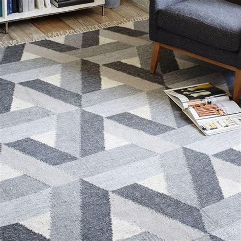west elm kilim rug matrix wool kilim rug slate west elm
