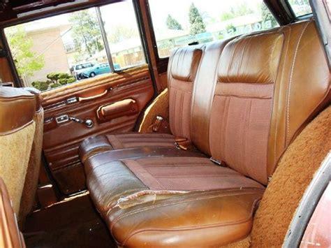 1970 jeep wagoneer interior 1981 jeep wagoneer interior pictures cargurus