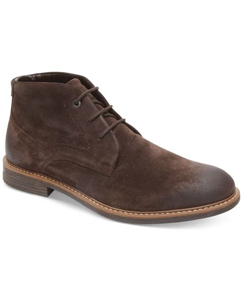 rockport boot for rockport s classic chukka boots in brown for