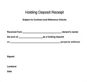 Receipt Of Deposit Template Best Photos Of Sample Deposit Receipt Sample Deposit