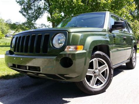 Jeep Patriot 2008 Mpg Find Used 2008 Jeep Patriot Sport 2 4l 30mpg Clean Sunroof