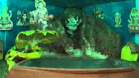 ganpati decoration krishna kaliya naag theme youtube