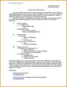 Write Informative Essay Outline by Sle Informative Speech Outline Format