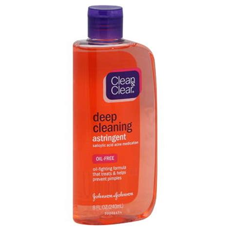 deep cleaning astringent deep cleaning oil fighting 8 oz