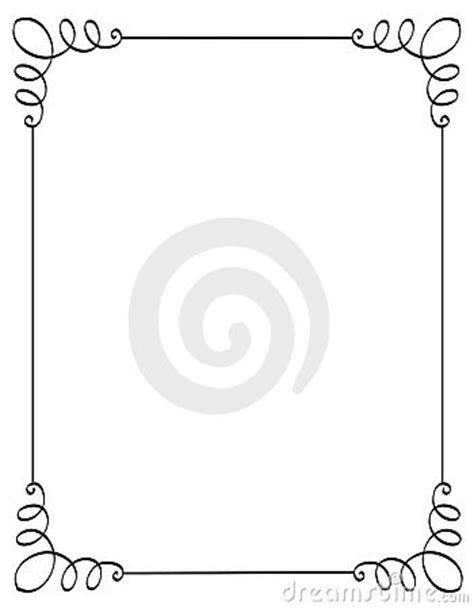 Where Can I Use A Borders Gift Card - invitation border frame stock images image 19562154