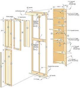 pdf linen closet building plans plans free
