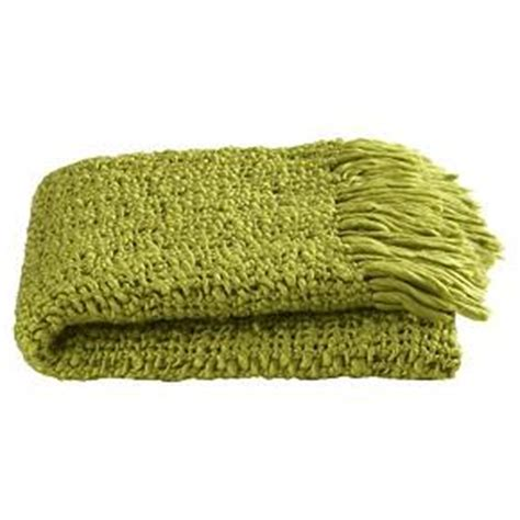 Green Blankets And Throws by Green Tessuto Throw