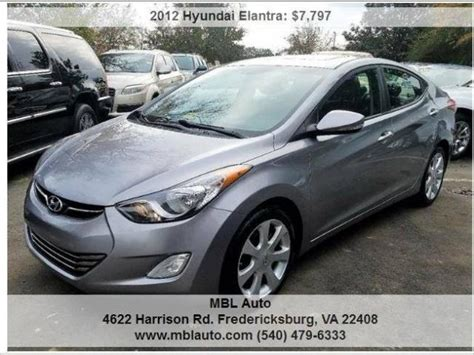 Used 2012 Hyundai Elantra by Used 2012 Hyundai Elantra For Sale Pricing Features