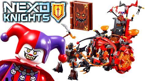 Lego 70316 Jestro S Evil Mobile Sparkks Buildable Figure lego nexo knights jestro s evil mobile 70316 review