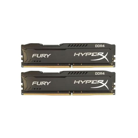 Kingston Hyperx Fury Ddr4 2400 8gb Hx424c15fbk2 8 Black1 kingston dual 8gb 2x4gb 2400mhz hyperx fury ddr4 cl15