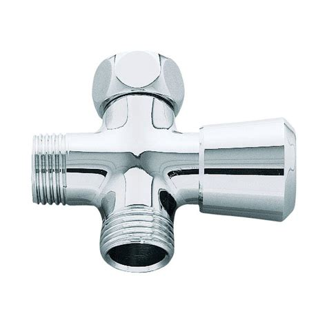 bathtub diverter delta shower arm diverter for handshower in chrome u4922 pk the home depot