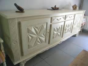 incroyable peindre un buffet en bois 3 meuble basque