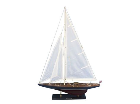 Sailboat Models For Decoration by Buy Woodenendeavour Model Sailboat Decoration 35 Inch