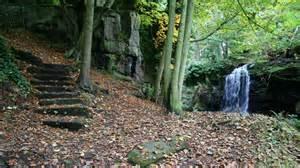 alan walker waterfall lumsdale valley 169 alan walker geograph britain and ireland