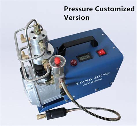 Pompa Air Mini High Pressure adjustable pressure 300bar 4500psi air high pressure