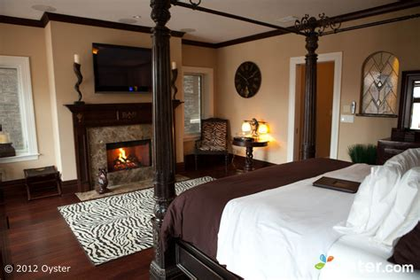 hotel with fireplace in room wedding wednesday villa d citta chicago oyster
