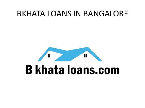 Distance Mba For Working Professionals In Bangalore by Homeloan For B Khata Property In Bangalore