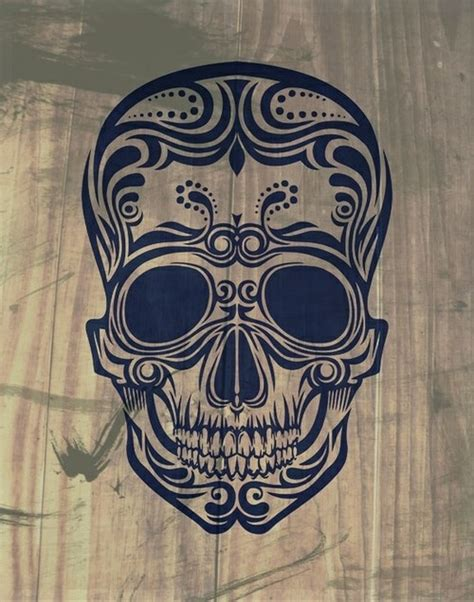 sugar skull tattoo design dia de los muertos inspiration
