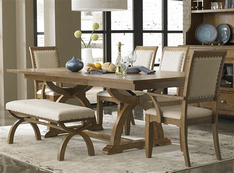 light wood dining room sets liberty furniture 6 piece 96 215 42 dining room set light
