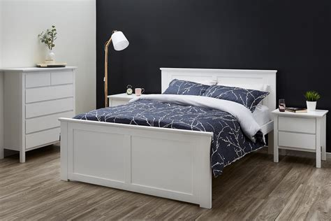 Fantastic White King Size Bed Frame Sale B2c Furniture White King Size Bed Frame