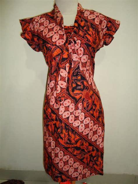 Keyra Hanya Dress By Sheika dress batik d 011 grosir batik murah