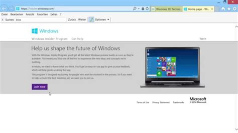 tutorial windows 10 technical preview windows 10 vorschau tutorial wie bekommt man die