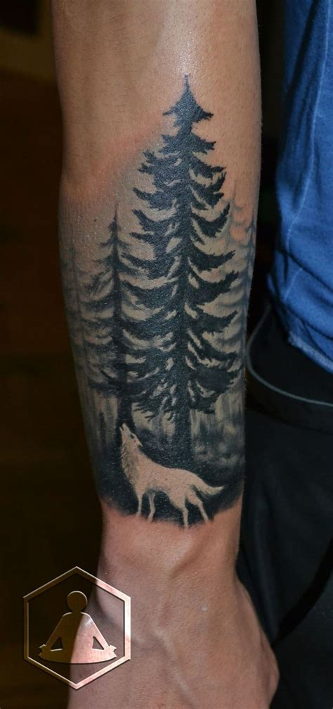 wolf forest tattoo 17 best ideas about wolf sleeve on wolf