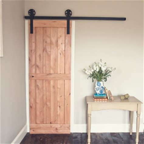 2 Panel Barn Door Kit Traditional Interior Doors By Interior Barn Door Kit