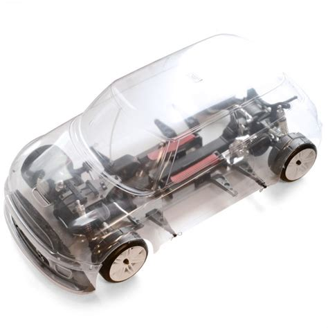 Terbaik Mini 4wd 1 Chassis Transparant fg promo sportsline 4wd 510e mini cooper rolling chassis transparant mcm