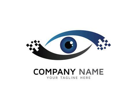 free logo design without registration digital eye logo design vector premium download